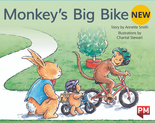 PM Library Red Level 3 Monkey's Big Bike 6-pack