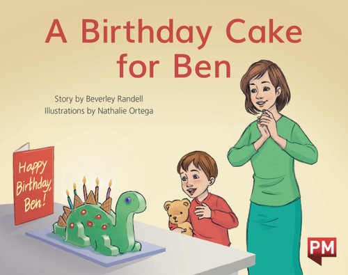 PM Library Red Level 3 A Birthday Cake For Ben 6-pack