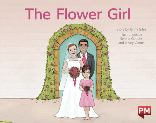 PM Library Red Level 4 The Flower Girl 6-pack
