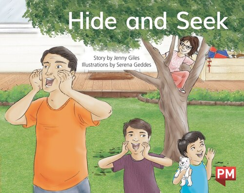 PM Library Red Level 5 Hide & Seek? 6-pack