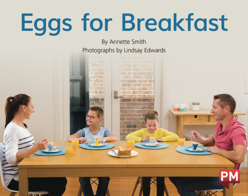 PM Library Red Level 5-6 Eggs for Breakfast 6-pack