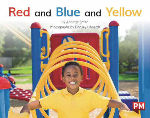 PM Library Red Level 5-6 Red and Blue and Yellow 6-pack