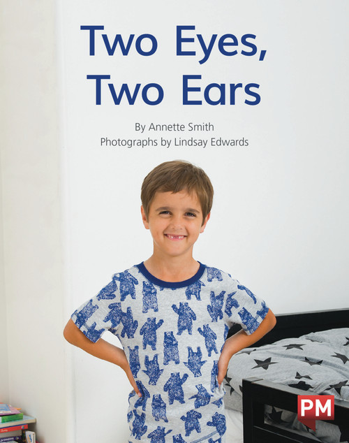 PM Library Red Level 5-6 Two Eyes, Two Ears 6-pack