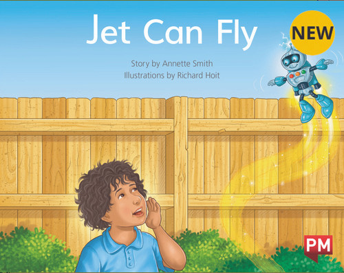 PM Library Yellow Level 6 Jet Can Fly 6-pack