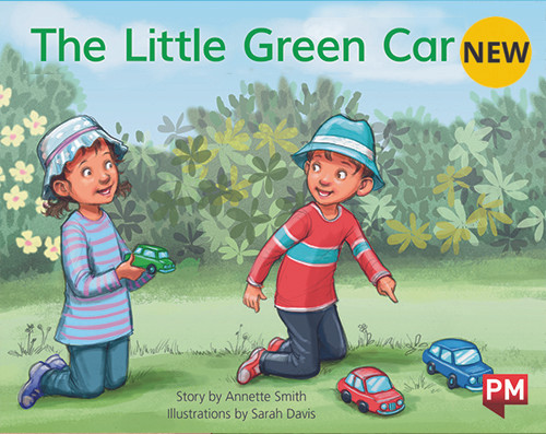 PM Library Yellow Level 6 The Little Green Car 6-pack