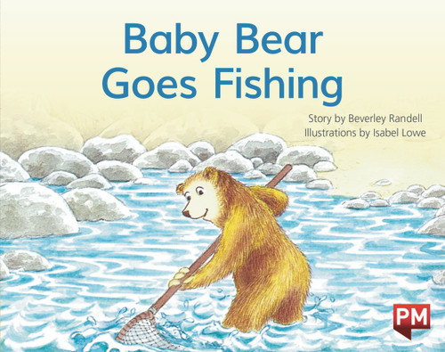 PM Library Yellow Level 7 Baby Bear Goes Fishing 6-pack