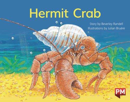 PM Library Yellow Level 7 Hermit Crab 6-pack