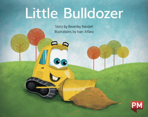 PM Library Yellow Level 8 Little Bulldozer 6-pack
