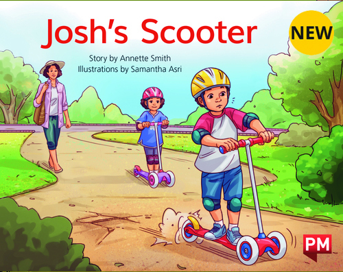 PM Library Yellow Level 8 Josh's Scooter 6-pack