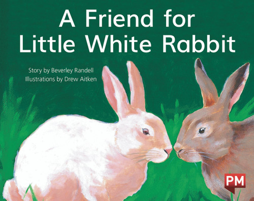 PM Library Yellow Level 8 A Friend for Little White Rabbit 6-pack