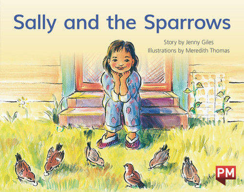 PM Library Yellow Level 7 Sally and the Sparrows 6-pack