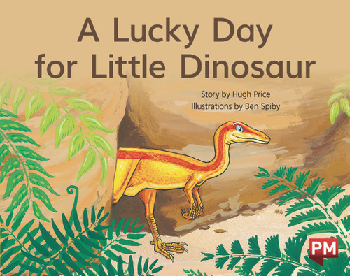 PM Library Yellow Level 8 A Lucky Day for Little Dinosaur 6-pack