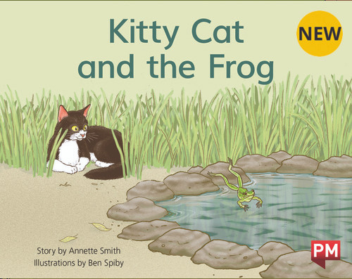 PM Library Yellow Level 8 Kitty Cat and the Frog 6-pack