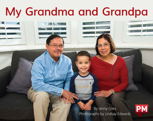 PM Library Yellow Level 8-9 My Grandma and Grandpa 6-pack