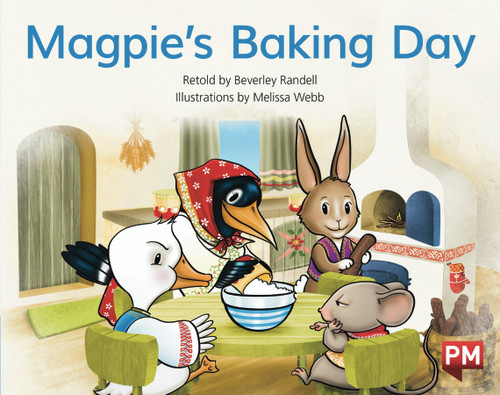 PM Library Blue Level 9 Magpie's Baking Day 6-pack