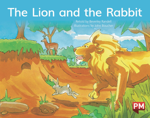 PM Library Blue Level 9 The Lion and the Rabbit 6-pack