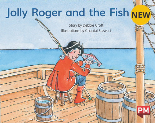 PM Library Blue Level 10 Jolly Roger and the Fish 6-pack