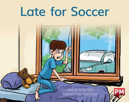 PM Library Blue Level 11 Late for Soccer 6-pack