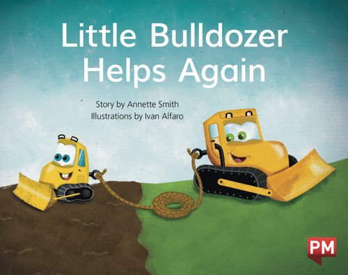 PM Library Blue Level 9 Little Bulldozer Helps Again 6-pack