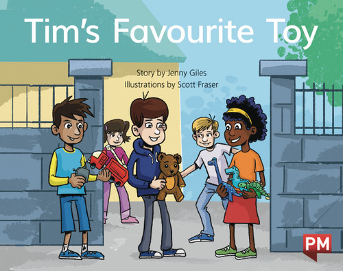PM Library Blue Level 10 Tim's Favorite Toy 6-pack