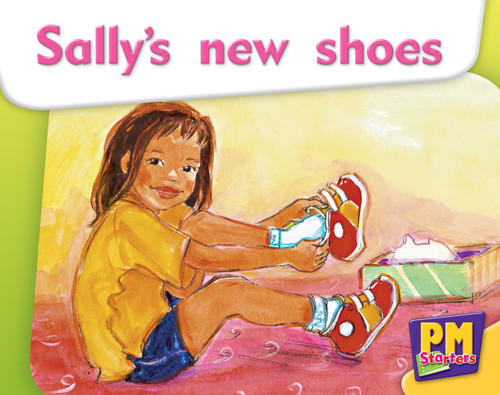 PM Starters Magenta Sally's New Shoes Lvl 2-3