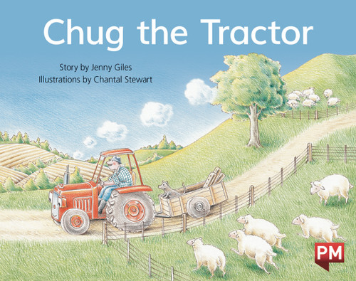 PM Library Blue Level 10 Chug the Tractor 6-pack