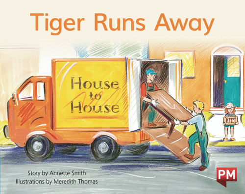 PM Library Blue Level 11 Tiger Runs Away 6-pack