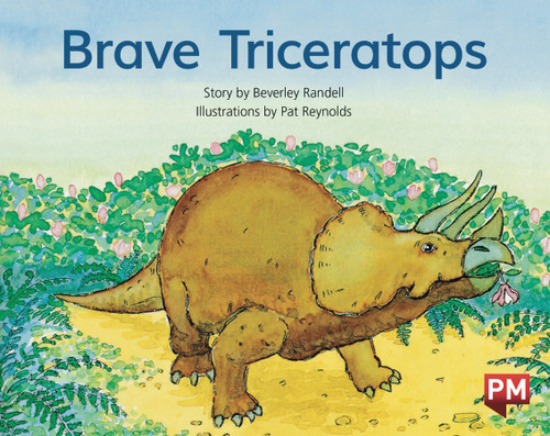 PM Library Green Level 12 Brave Triceratops 6-pack