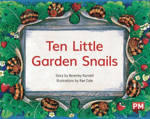 PM Library Green Level 13 Ten Little Garden Snails 6-pack