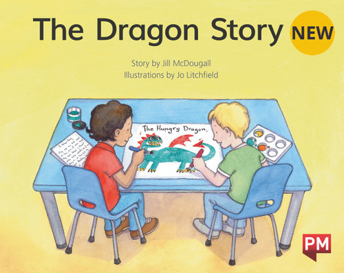PM Library Green Level 14 The Dragon Story 6-pack