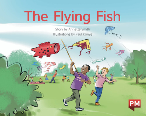 PM Library Green Level 12 The Flying Fish 6-pack