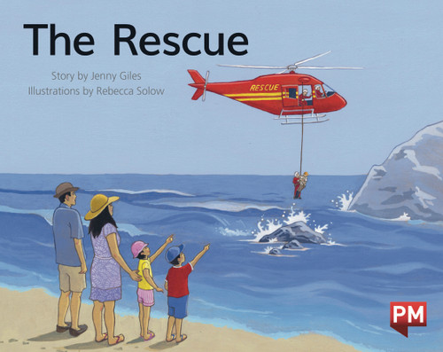 PM Library Green Level 12 The Rescue 6-pack