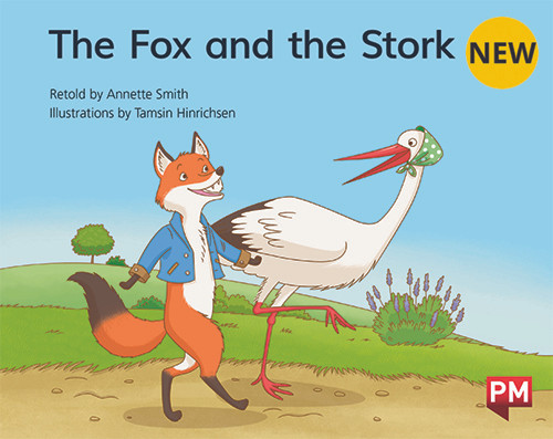 PM Library Green Level 13 The Fox and the Stork 6-pack