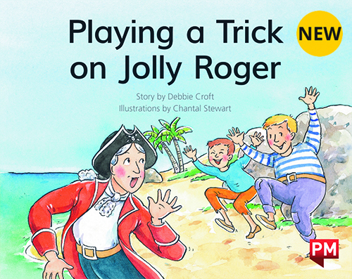 PM Library Green Level 13 Playing a Trick on Jolly Roger 6-pack