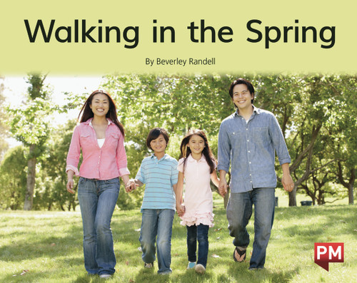 PM Library Green Level 14-15 Walking in the Spring 6-pack