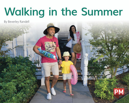 PM Library Green Level 14-15 Walking in the Summer 6-pack