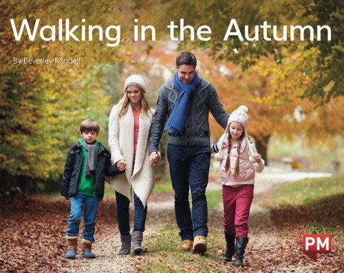 PM Library Green Level 14-15 Walking in the Autumn 6-pack