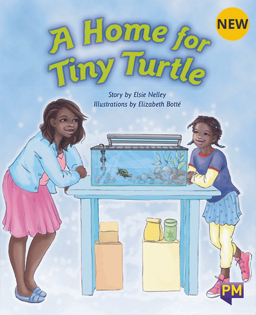 PM Library Orange Level 15 A Home for Tiny Turtle 6-pack