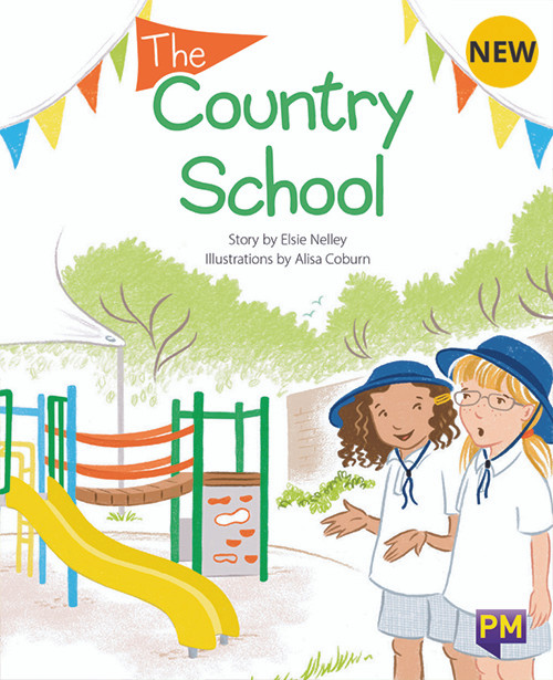 PM Library Orange Level 15 The Country School 6-pack