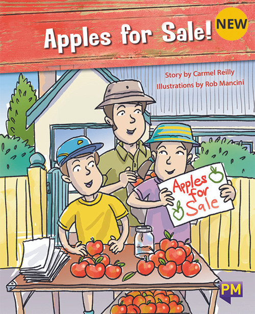 PM Library Orange Level 15 Apples for Sale! 6-pack