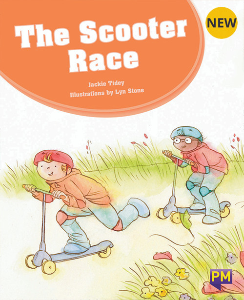 PM Library Orange Level 15 The Scooter Race 6-pack