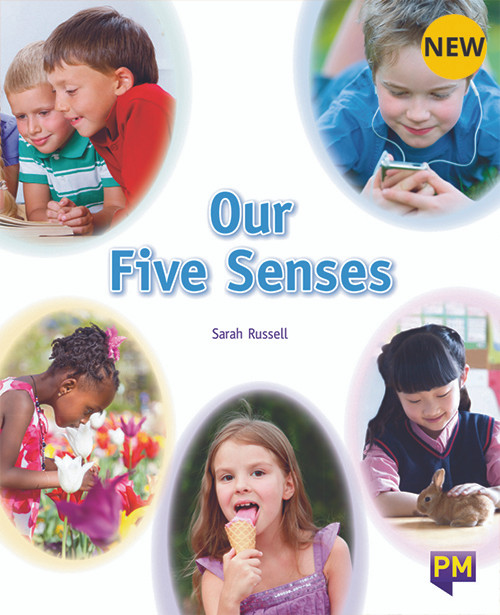 PM Library Orange Level 15 Our Five Senses 6-pack