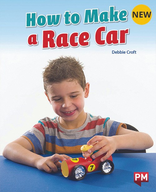 PM Library Orange Level 16 How to Make a Race Car 6-pack