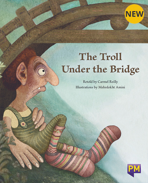 PM Library Orange Level 16 The Troll Under the Bridge 6-pack