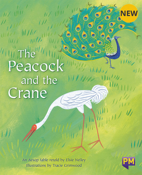 PM Library Orange Level 16 The Peacock and the Crane 6-pack