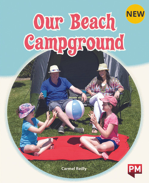 PM Library Orange Level 16 Our Beach Campground 6-pack