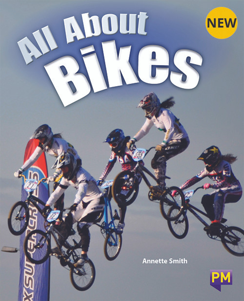 PM Library Turquoise Level 17 All About Bikes 6-pack