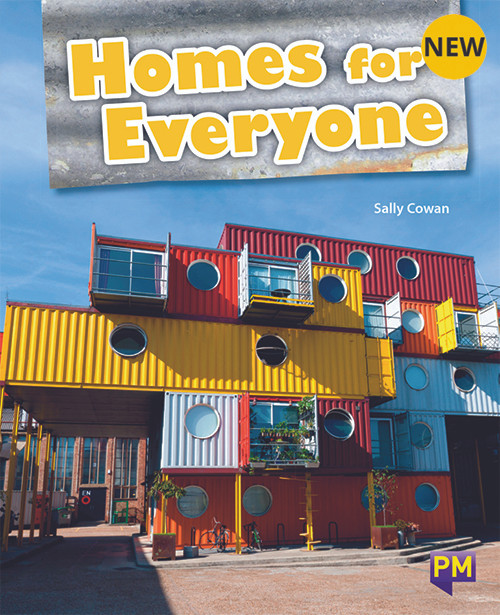PM Library Turquoise Level 17 Homes for Everyone 6-pack