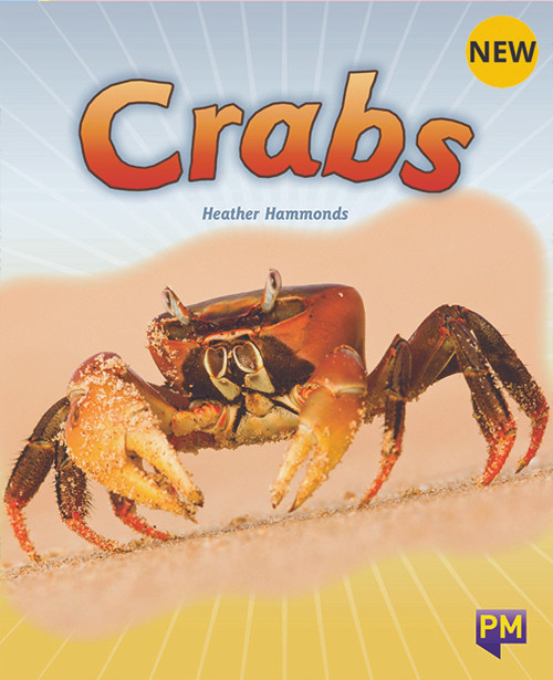 PM Library Turquoise Level 18 Crabs 6-pack