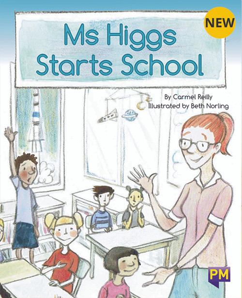 PM Library Turquoise Level 18 Ms Higgs Starts School 6-pack